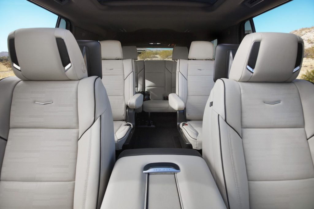 The Escalade is the Brand's largest and most luxurious SUV.