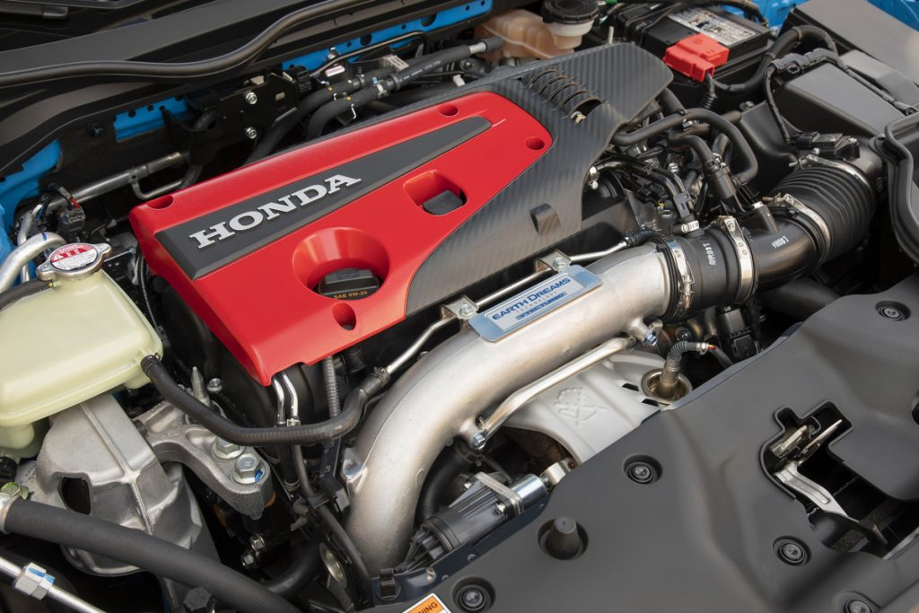2021 Honda Civic Type R engine