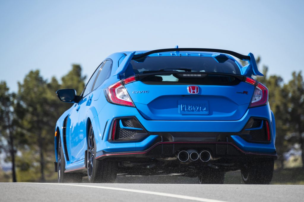 2021 Honda Civic Type R rear