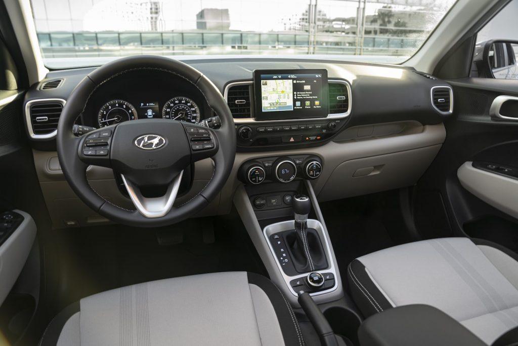 2021 Hyundai Venue interior
