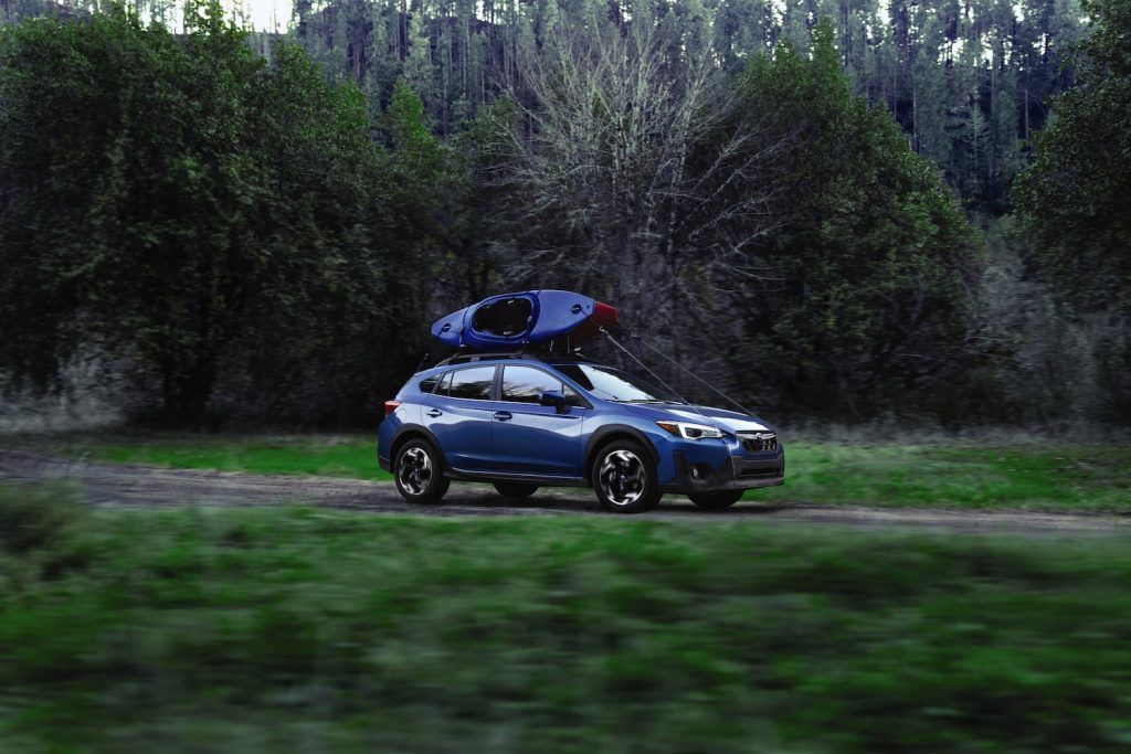2021 Subaru Crosstrek outdoors