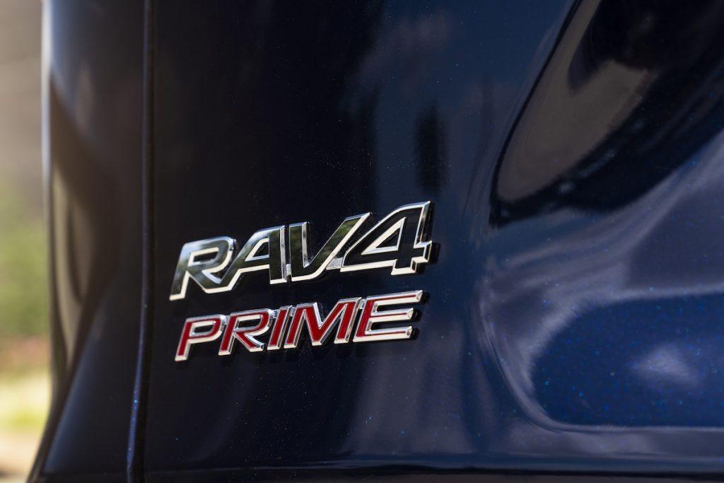 Blue 2021 Toyota RAV4 Prime