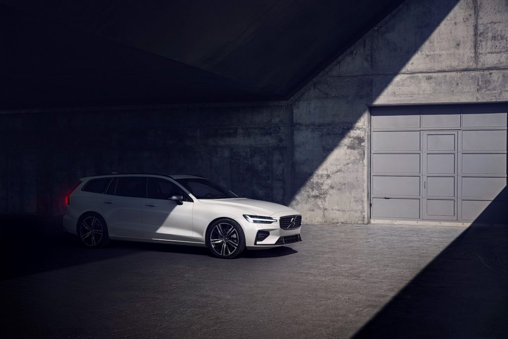The Volvo V60 is Volvo's entry-level station wagon for the U.S. market.
