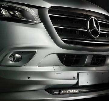 A Mercedes-Benz and Airstream Camper Collab Just Makes Sense