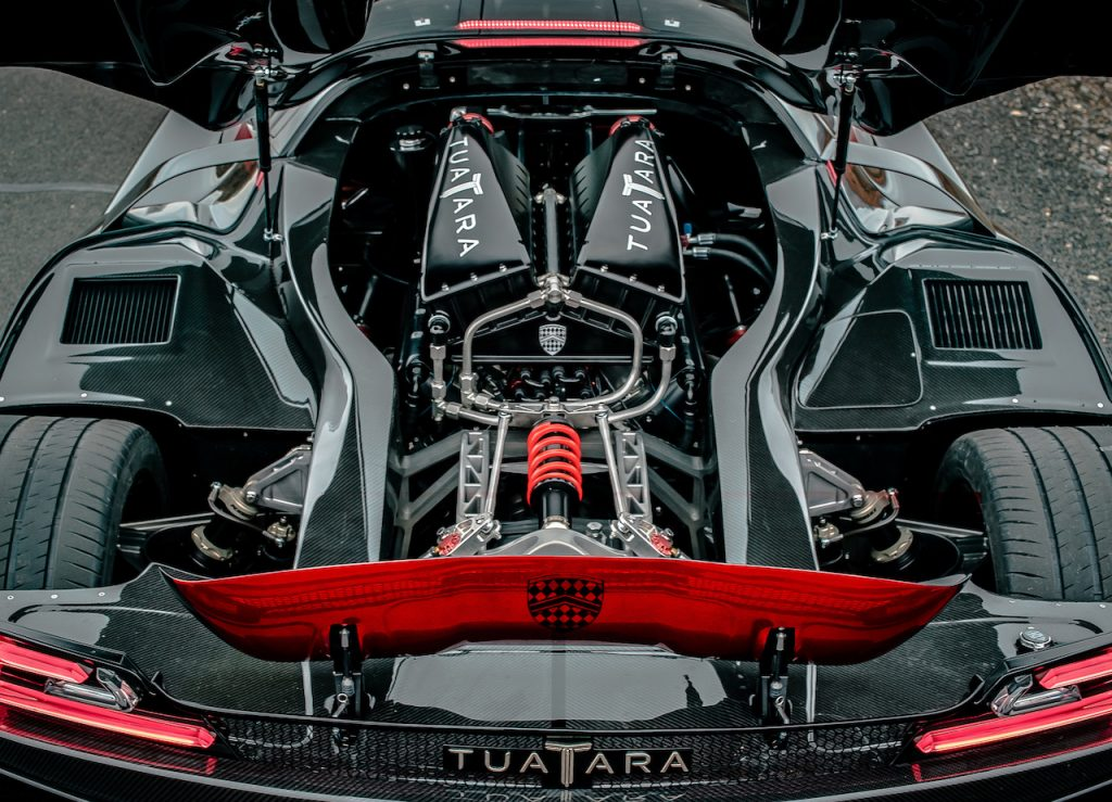 The SSC Tuarata is the world's fastest production car.