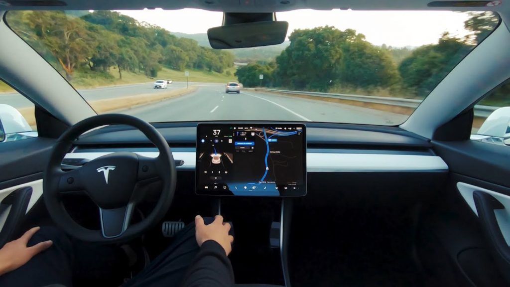 A claimed demonstration of Tesla's 'Full Self-Driving' capability
