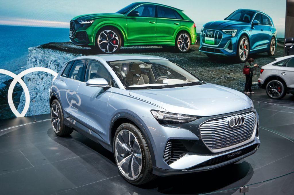 Audi e-tron at Beijing International Auto Show
