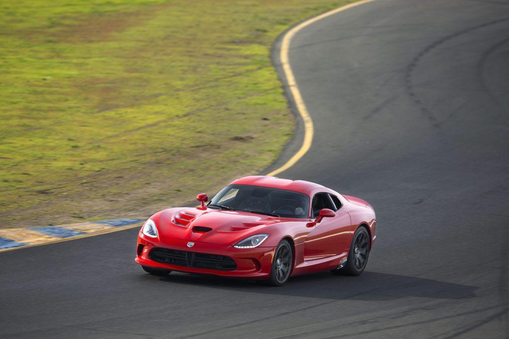 The Dodge Viper is a V10 manual transmission sports car.