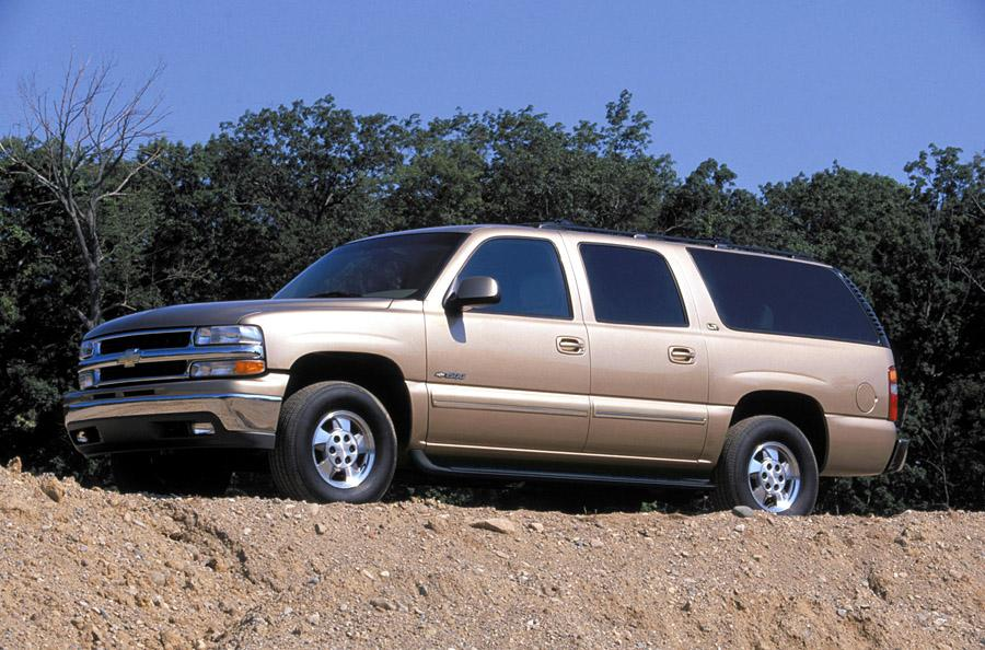 this 2002 Chevy Suburban off-roading shows one reason why these are desirable as a camper conversion.