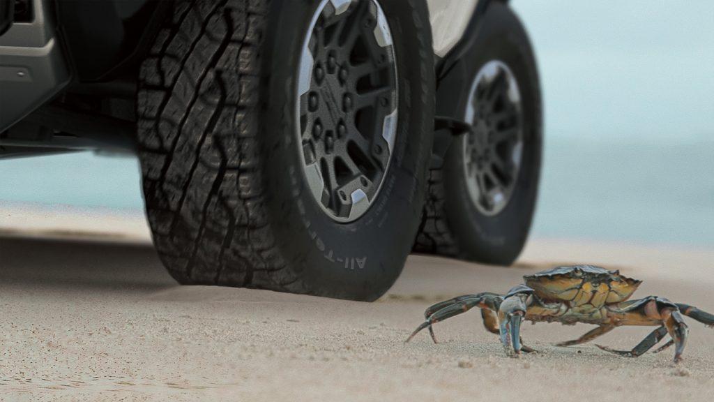 hummer EV crabwalk feature