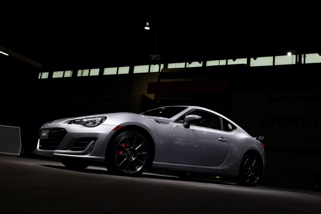 2019 Subaru BRZ is on display at the 111th Annual Chicago Auto Show