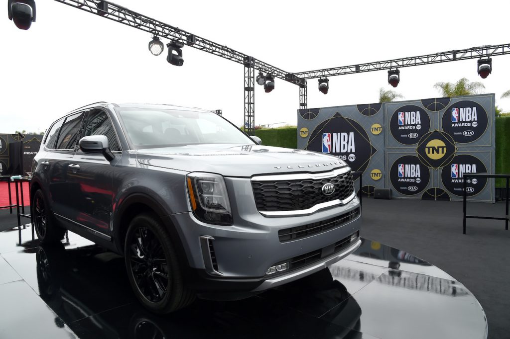 The Kia Telluride is an SUV that offers plenty of equipment for the money.
