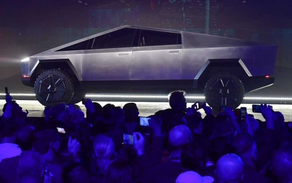 The Tesla Cybertruck is an electric pickup truck with incredible performance figures.
