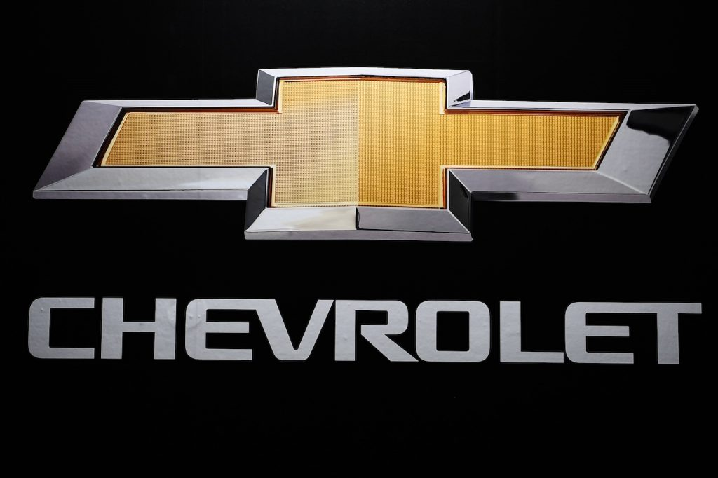 A photo of the Chevrolet logo.