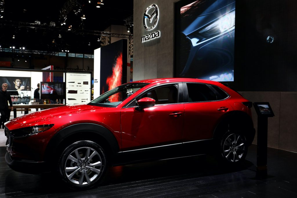 2020 Mazda CX-30 is on display at the 112th Annual Chicago Auto Show