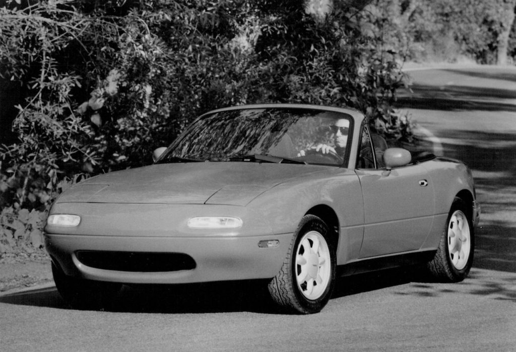 The Mazda MX-5 Miata is an affordable rear-wheel-drive sports car for the masses.