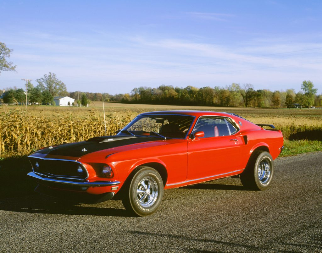 The Ford Mustang Mach 1 is one of the brand's most iconic muscle cars.