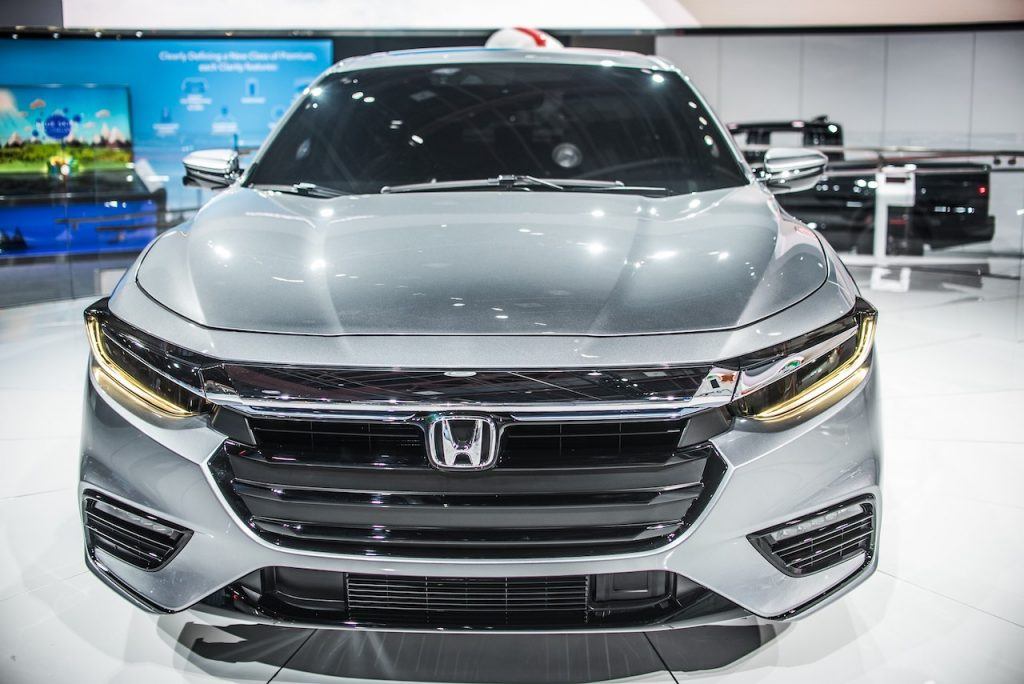 The Honda Insight is a fuel-efficient hybrid-powered vehicle.