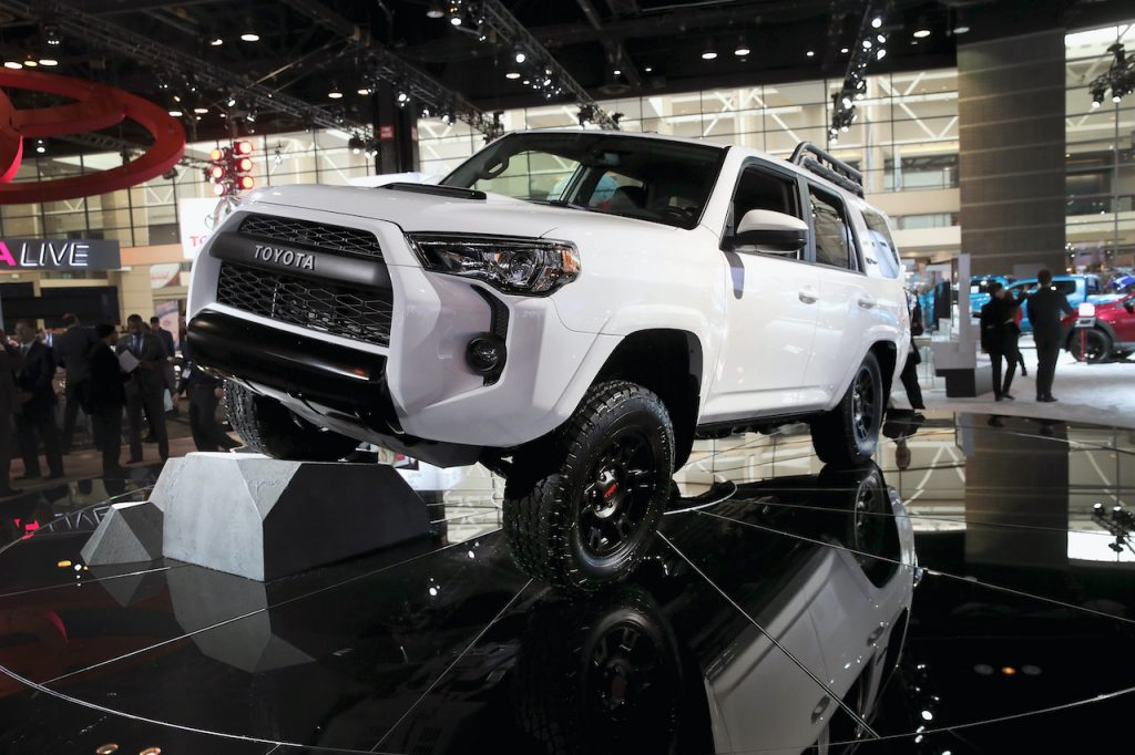 The Toyota 4Runner is a true off-roader.