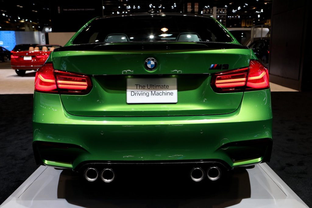 BMW M3 is on display at the 110th Annual Chicago Auto Show