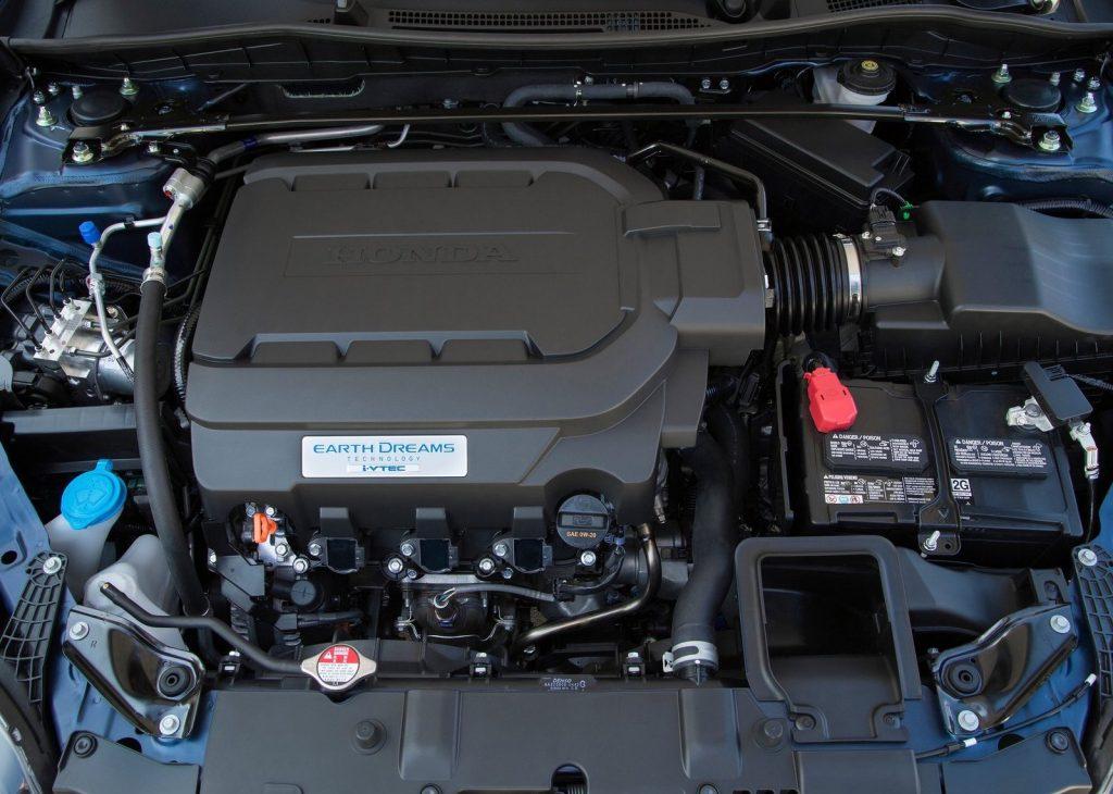 2016 Honda Accord V6 MT engine