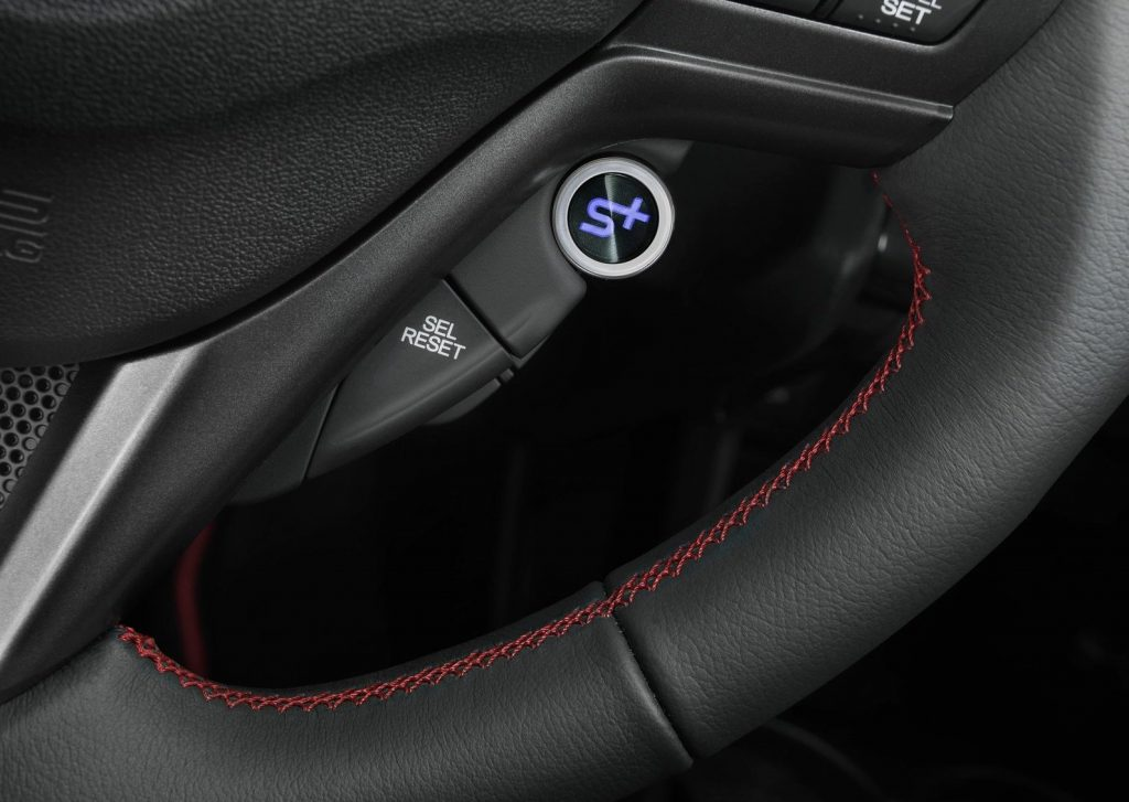 2013 Honda CR-Z Interior Sport Plus Button