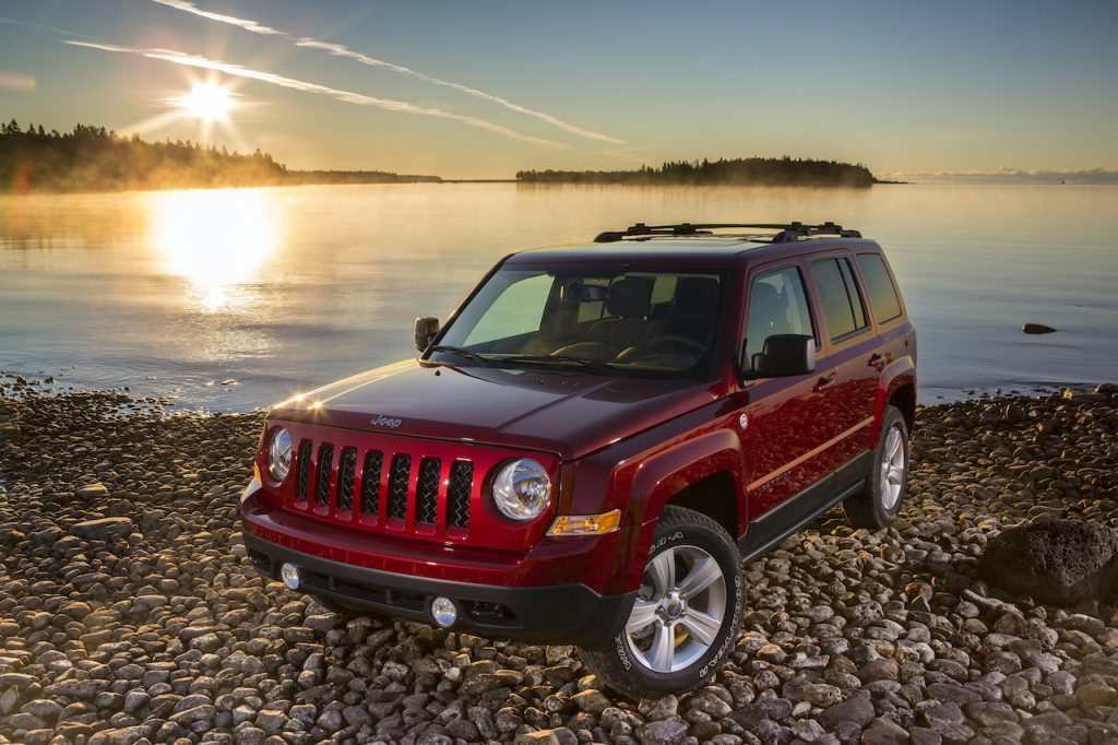 The Jeep Patriot was a small SUV that was discontinued in 2016.