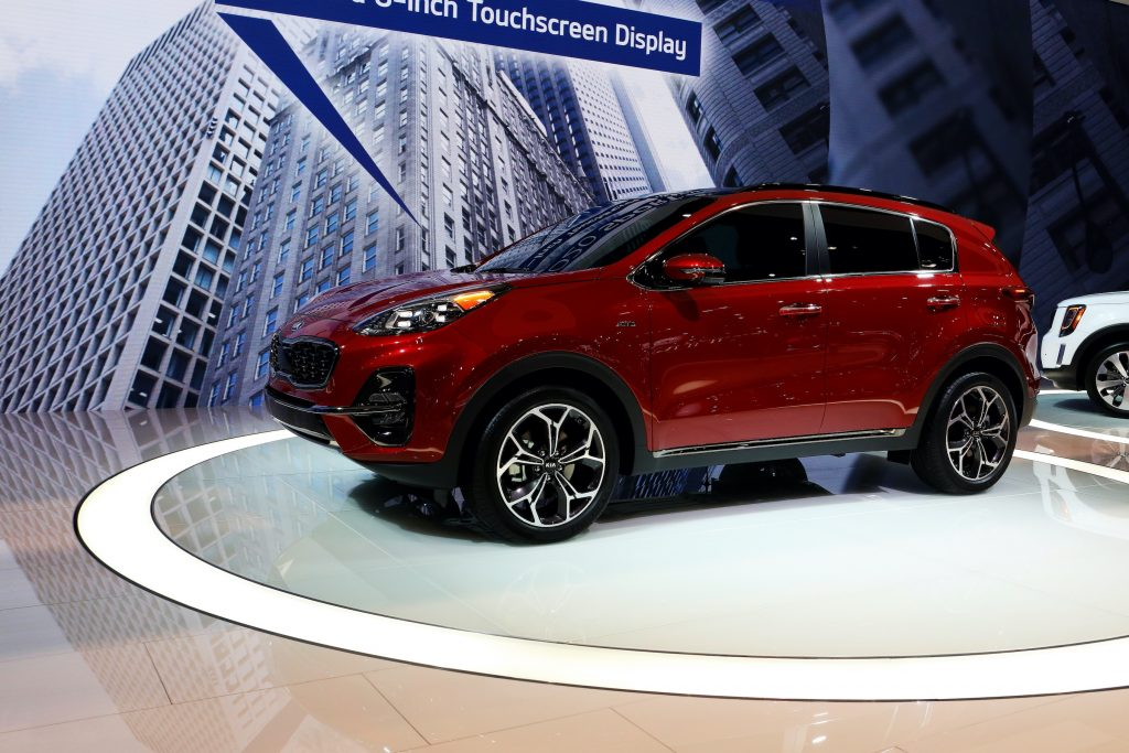 2020 Kia Sportage is on display at the 111th Annual Chicago Auto Show