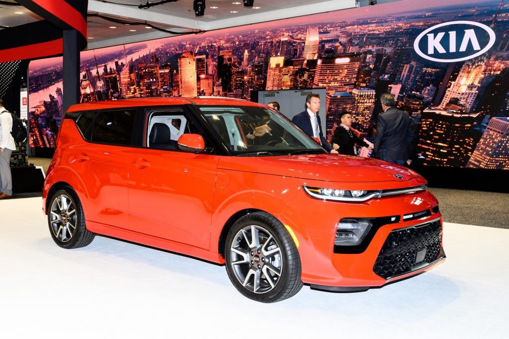 Kia Soul seen at the New York International Auto Show