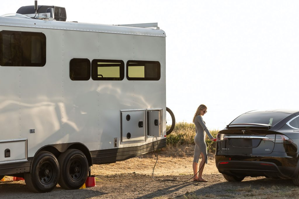 Living Vehicle is an incredible camper that can charge your EV