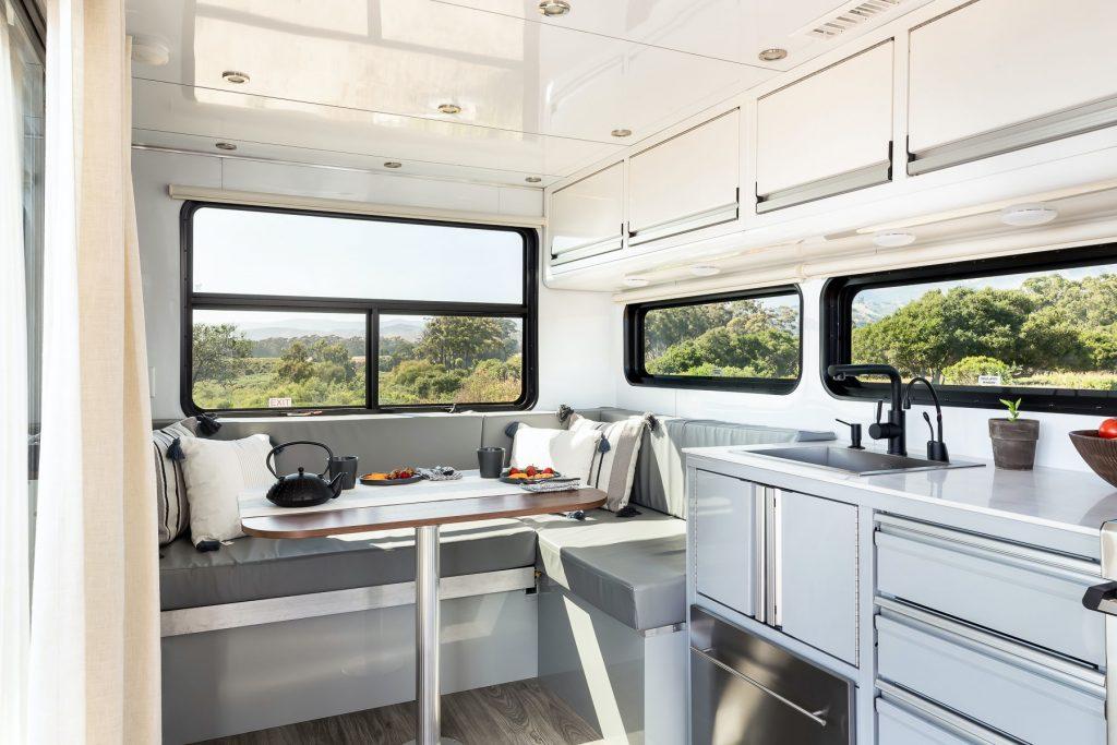 Living Vehicle interior