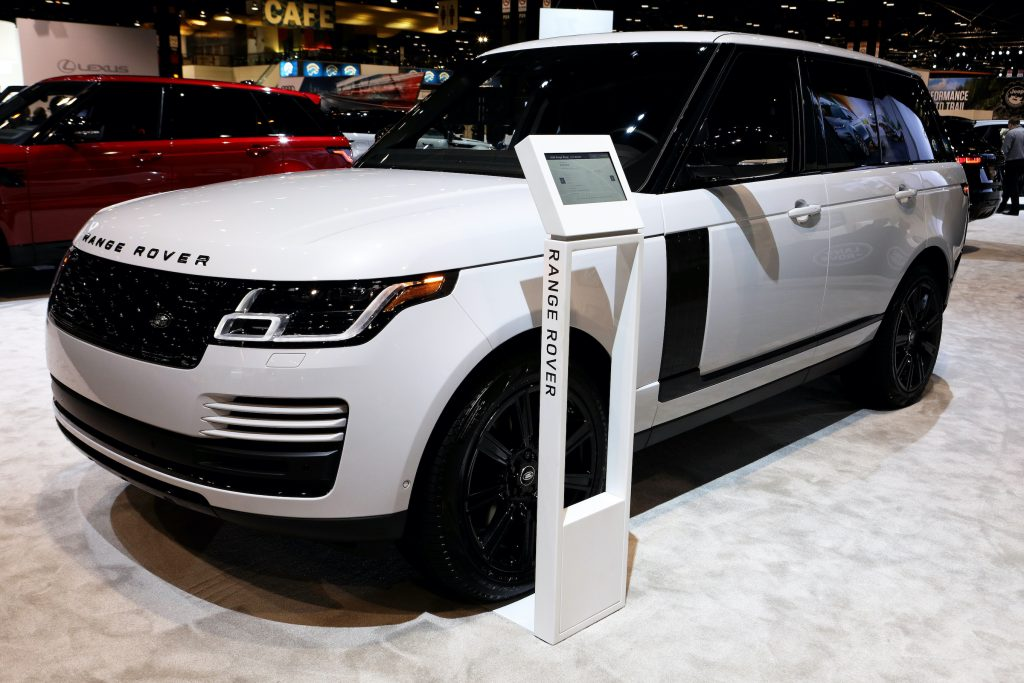 2020 Land Rover Range Rover is on display at the 112th Annual Chicago Auto Show