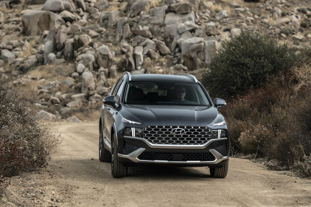 The 2021 Hyundai Santa Fe is the brand's newest SUV.