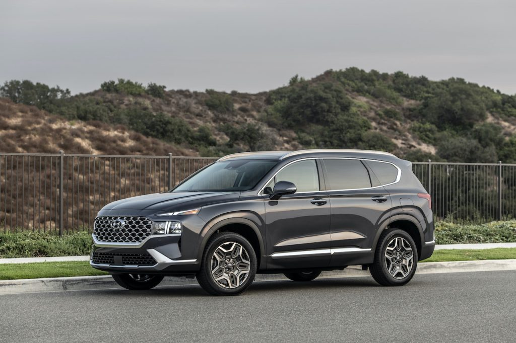 The 2021 Hyundai Santa Fe is the brand's newest SUV.