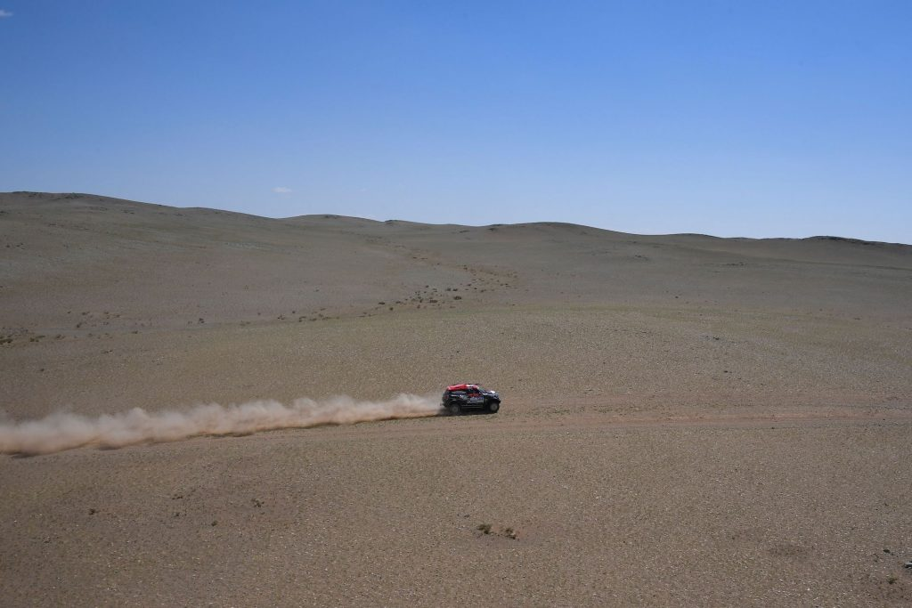 MINI Countryman John Cooper Works Rally during the sixth stage of the Silk Way