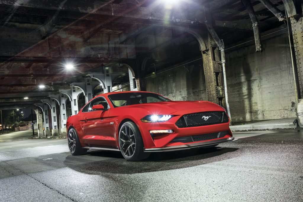 The Ford Mustang GT Performance Pack Level 2 is the best-performing GT model.