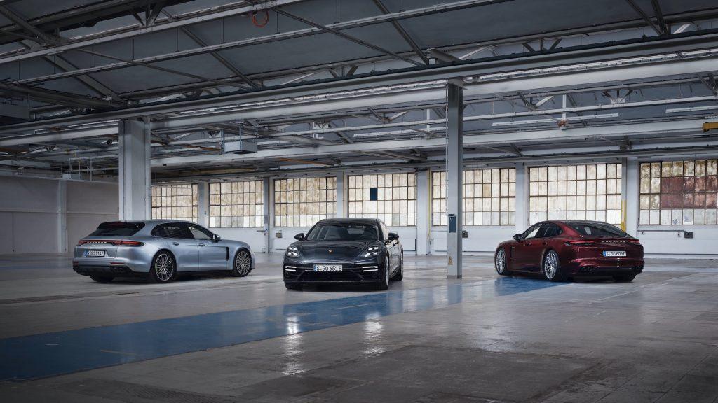 2021 Porsche Panamera line up