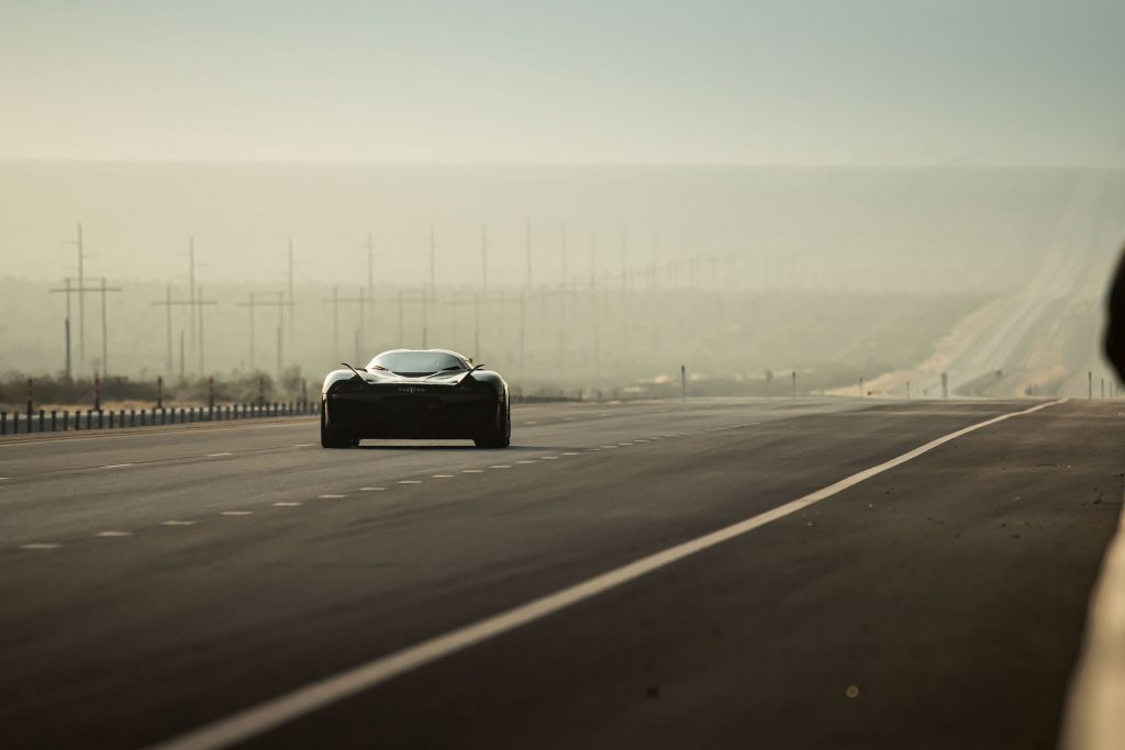 The SSC Tuatara world record hypercar