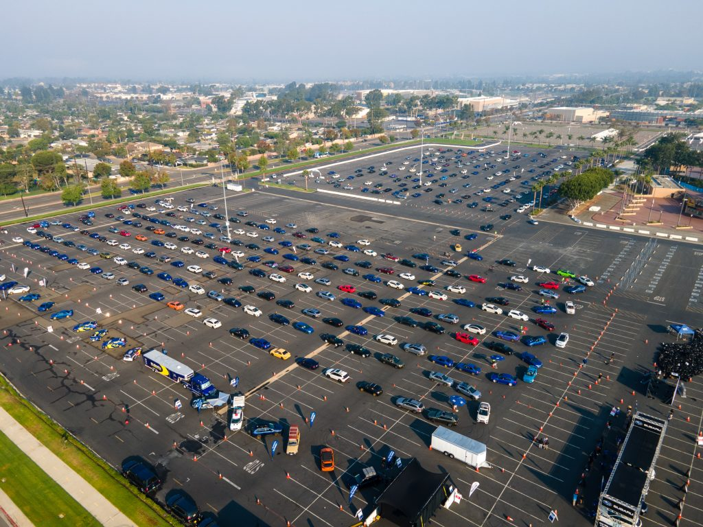 Subaru Breaks Guinness World Records Title for the Largest Parade of Subaru Cars