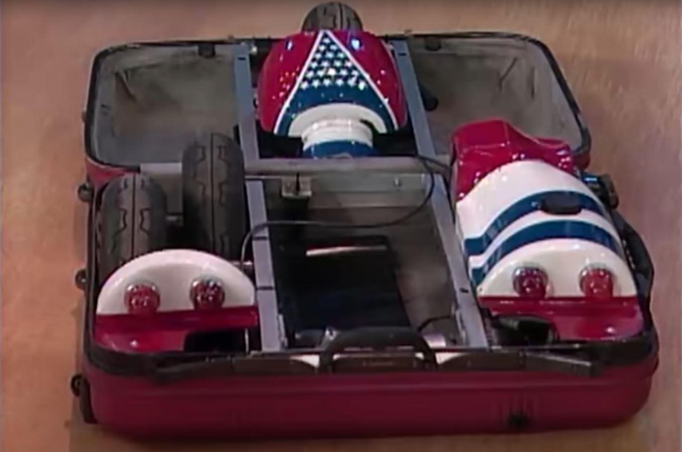 Mazda Made an Amazing Suitcase Car