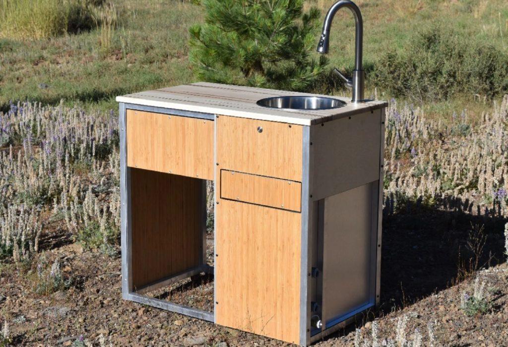 The Trail Kitchens Camper Van Kitchen Pod with sink