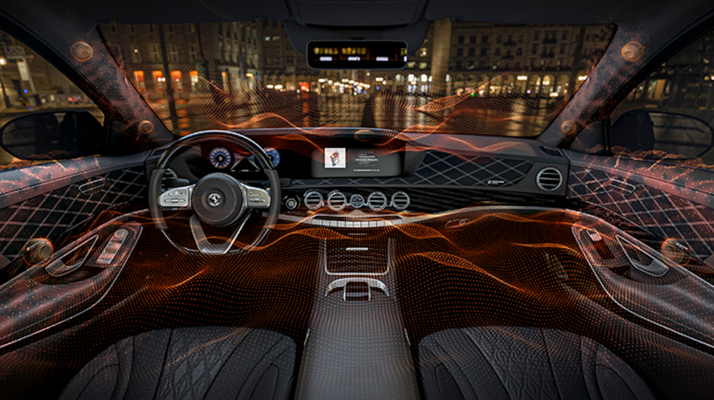 Continental's Ac2ated car stereo system
