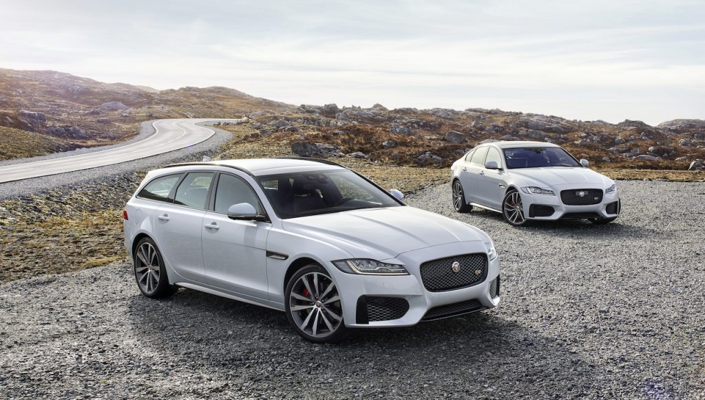 The Jaguar XF is an affordable family sedan with excellent financing incentives.