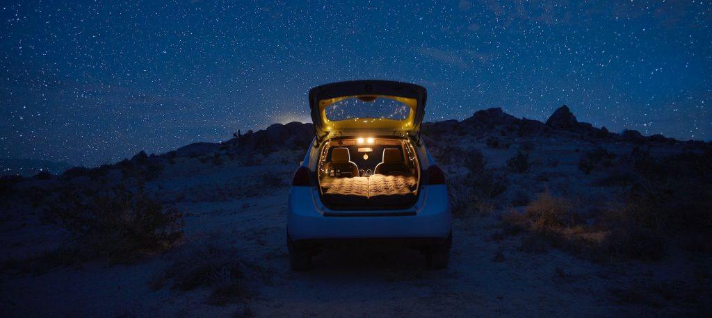 Luno overland camper conversion