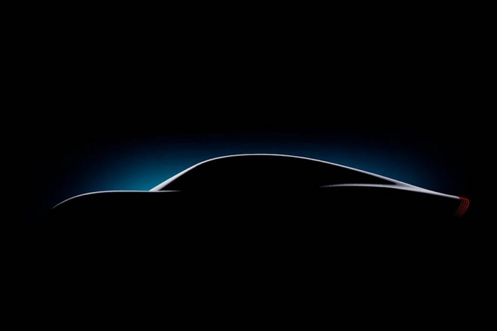 Mercedes Vision EQXX Concept teaser