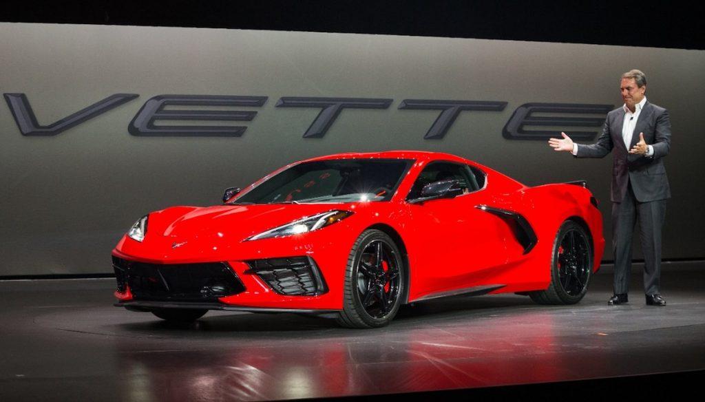 Red 2020 Chevrolet Corvette Stingray Unveiled
