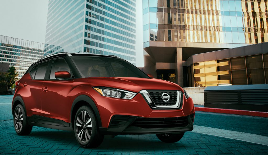 2020 Nissan Kicks driving