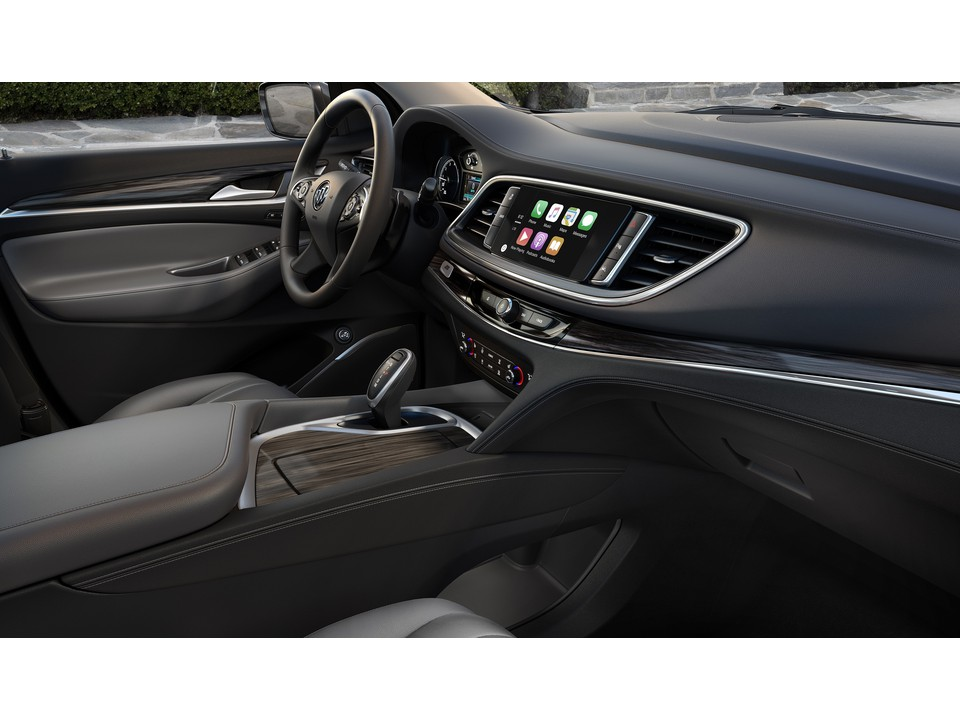 Front seats of a 2020 Buick Enclave