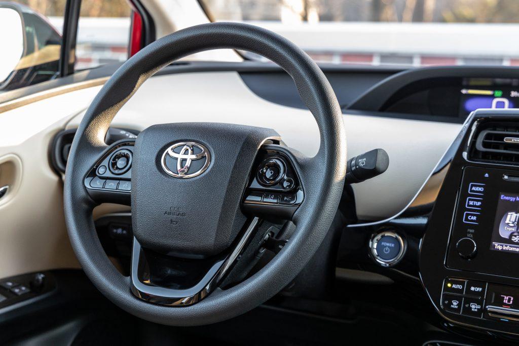 2021 Toyota Prius XLE Interior