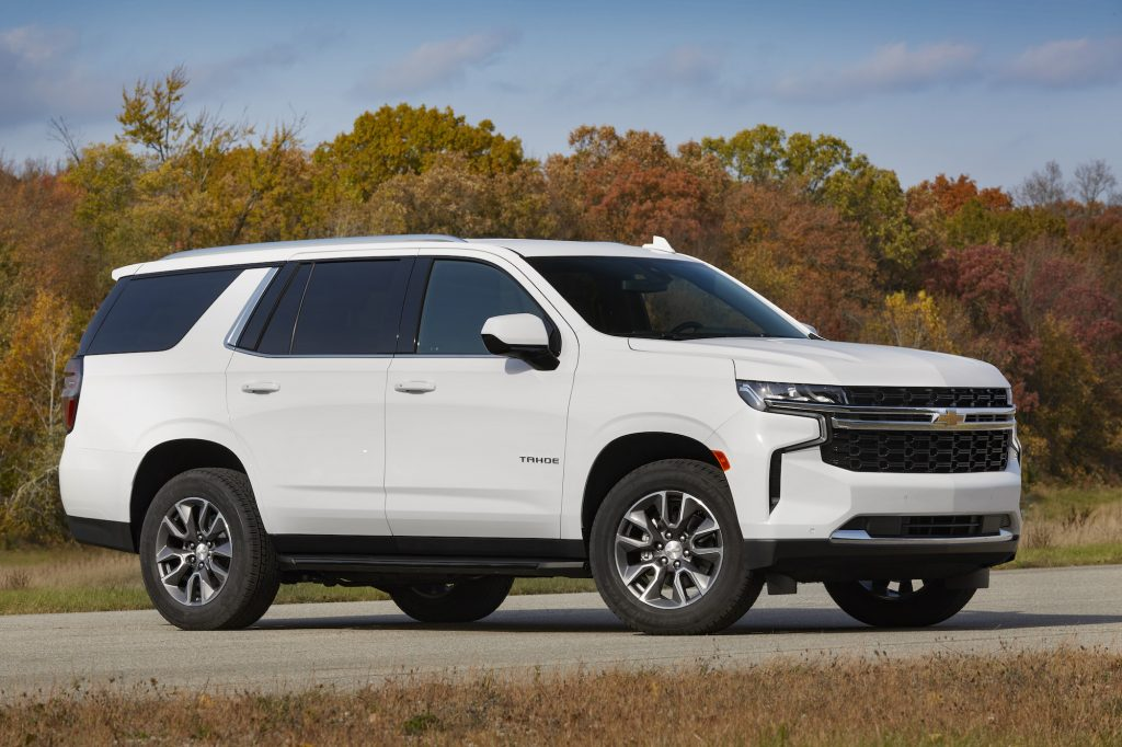 2021 Chevy Tahoe LS with the 3.0L Duramax Turbo-Diesel
